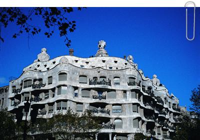 """Casa Milà """"La Pedrera"""". © Turisme de Barcelona / L. Bertran"""